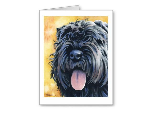 LABRADOODLE Set of 10 Note Cards With Envelopes