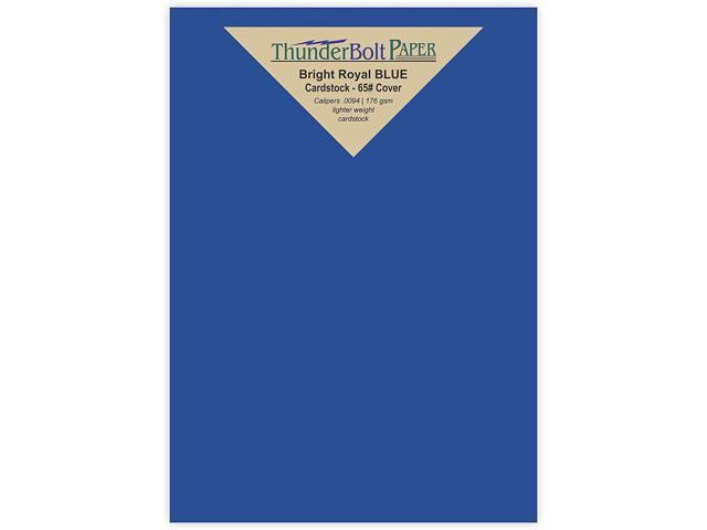 photo regarding Printable Cardstock Invitations called 200 Vivid Royal Blue 65# Cardstock Paper 4.5 X 6.5 Inches 1/2\