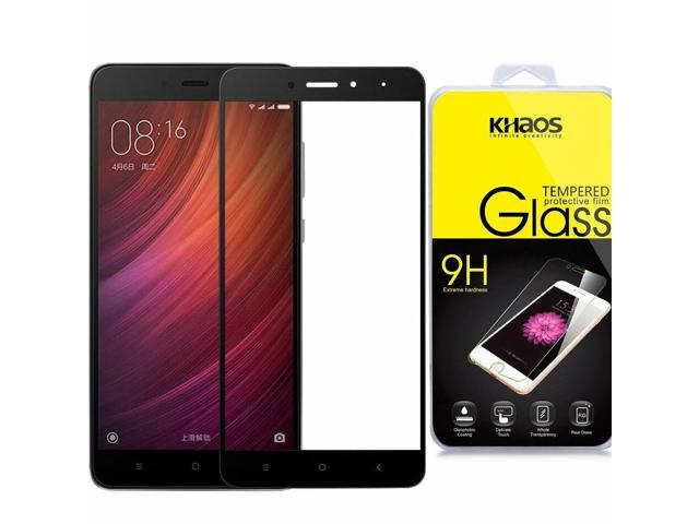 quality design bcfb1 2b04e KHAOS Ballistic [Full Cover] Glass Screen Protector For Xiaomi Redmi Note 4  - Newegg.com