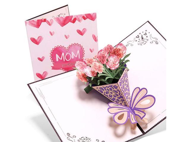 Tea Cups /& Saucer Radio Butterfly Flowers Design Female Happy Birthday Card
