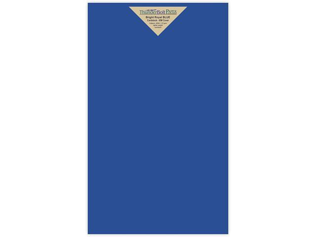 picture relating to Printable Playing Card Stock titled 25 Vivid Royal Blue 65# Cardstock Paper 8.5\