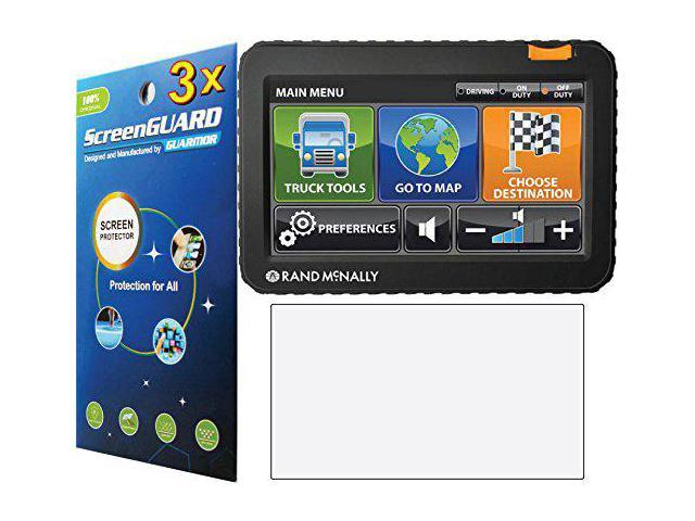 Rand Mcnally Gps >> Guarmorshield 3x Rand Mcnally Intelliroute Tnd 700 710 720 730 Lm Truck Gps Premium Clear Lcd Screen Protector Guard Cover Film Kits No Cutting