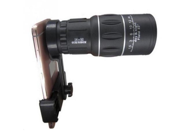 Telescope monocular hiking concert phone camera