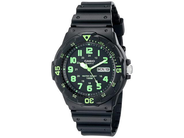Casio Mens MRW200H-3BV Dive Style Neo-Display Sport Watch