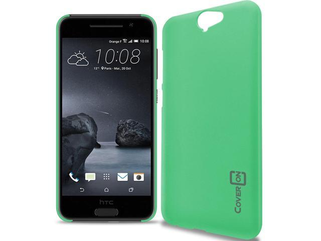 low priced 66244 2eb18 for HTC One A9 Case - Teal Slim Plastic Hard Back Cover - Newegg.com