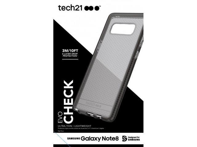 finest selection 40cb2 b147f Refurbished: Tech21 Evo Check Series Case Cover for Samsung Galaxy Note 8 -  Smokey/Black - Newegg.com