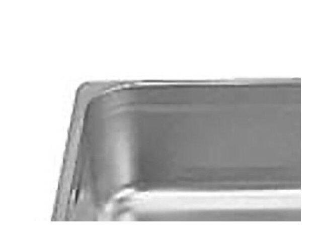 Thunder Group STPA9004 Full Size Stainless Steel 4-Inch Deep Anti Jam Pans 25 G