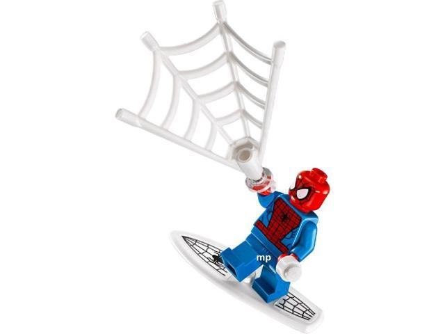 Captain Stacy 76059 minifigure Genuine LEGO Super Heroes Spider-Man minifig