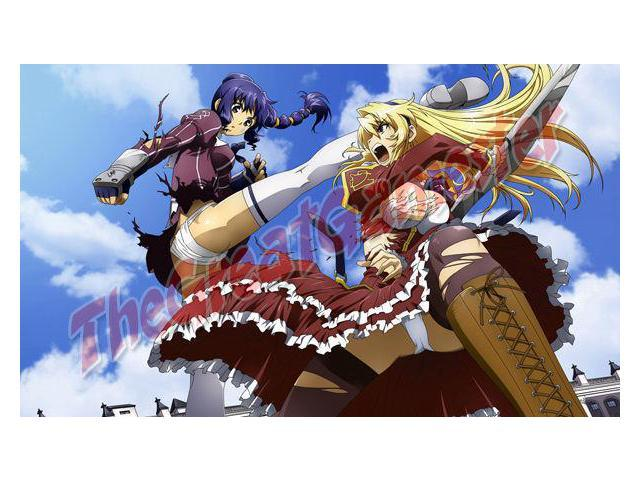Sexy Anime Girls Fighting in Tattered Clothes Custom Playmat / Game Mat  #132 - Newegg com