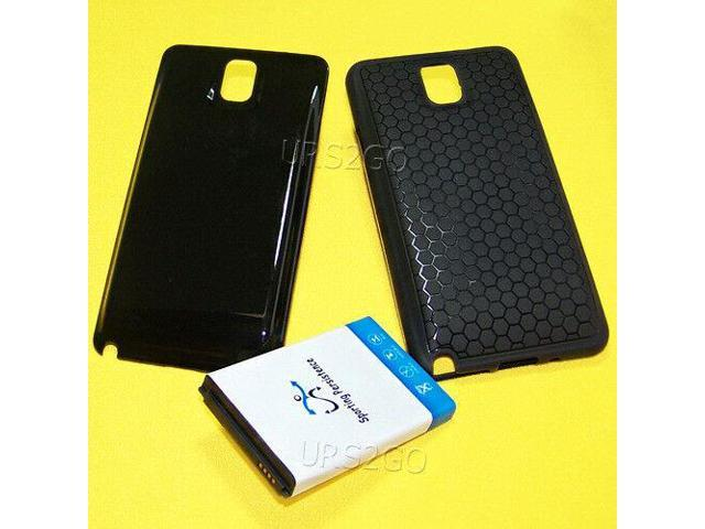 finest selection d0e2e 2623e 3in1 10300mAh Extended Battery Cover Case for Samsung Galaxy Note 3 N900R4  Phone - Newegg.com