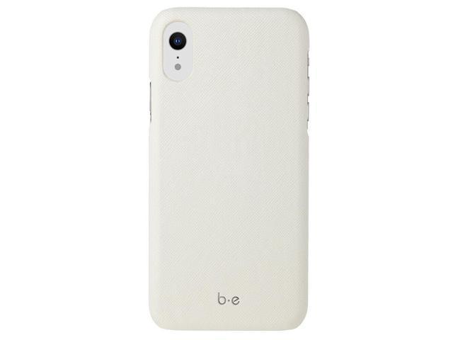 Blu Element Saffiano Case White for iPhone XR Cases BESFIXRW - Newegg com
