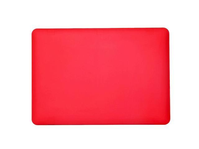 Blu Element Hardshell Soft Touch Case Red for MacBook 12 inch Cases BEMK12R  - Newegg com