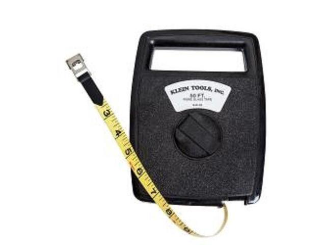 Klein 946-50 50-Feet Woven Fiberglass Tape with Case - Newegg com