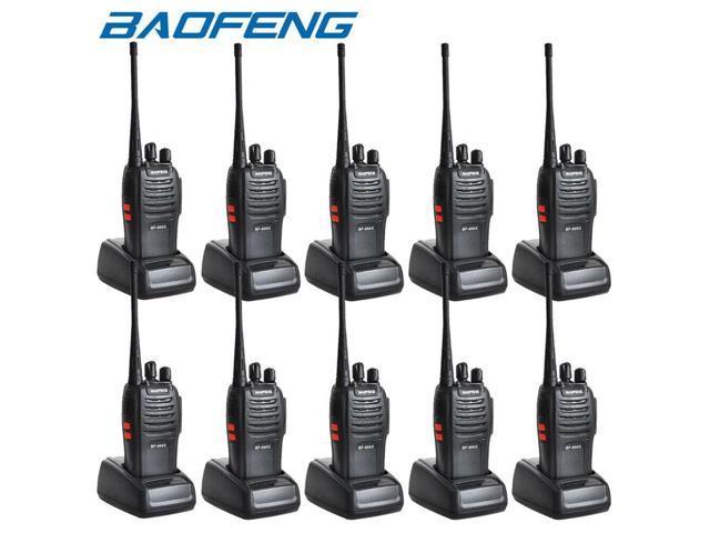 20X Baofeng BF-888S Walkie Talkie 2 Two Way Radio Handheld Long Range GMRS