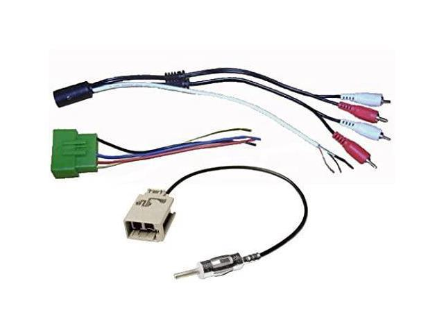 Factory Amp Interface with Wire Harness Cable Plug & Antenna Adapter Fits  Volvo (850 S40 S60 S70 S80 S90 C70 V40 V70 XC70 XC90) - Newegg.comNewegg.com