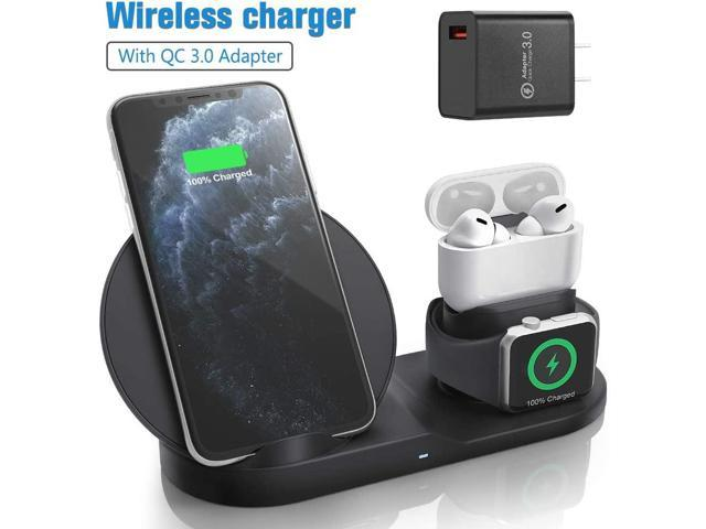 Wireless Charger For Airpods Pro With Adapter Coobetter 3 In 1
