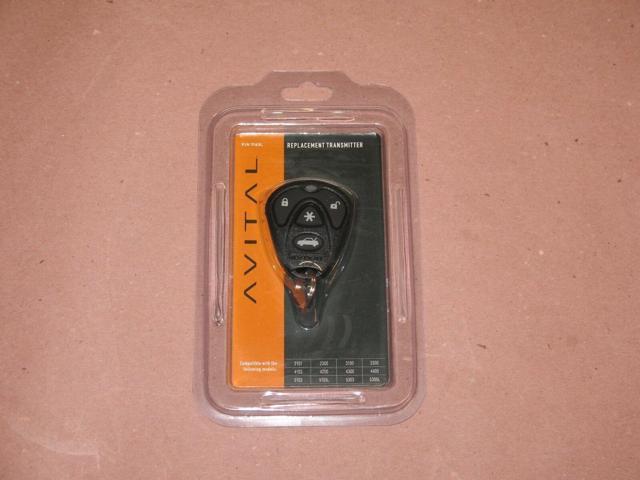 Avital DEI 2101 2300 3100 3300 4103 4200 4300 4400 1Way 1 Way Remote Control