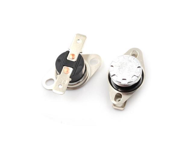 2Pcs 10A 250V KSD301 30°C~160°C Thermostat Temperature Thermal Control Switch tb