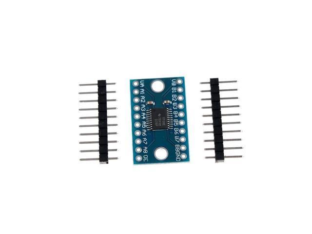 1PC TXS0108E 8 Channel 8-bit Logic Level Converter Bi-Directional Board  Module For Arduino With Pins - Newegg com