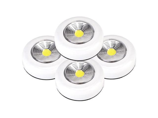 Kitchen COB LED Cordless Stick Tap Wardrobe Touch Light Lamp Stick On Lamp Bulb