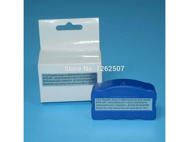 Ink Maintenance Box Chip Resetter T6711 For Epson For Epson WF-3520 3530  3540 WF-3620 3640 WF-7510 7520 7610 7620 7110 Printers - Newegg com