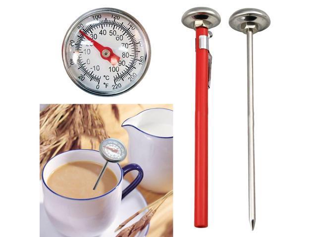 Stainless Steel 100°C Cooking Oven  Milk Food Meat Probe Thermometer Gauge ZJP