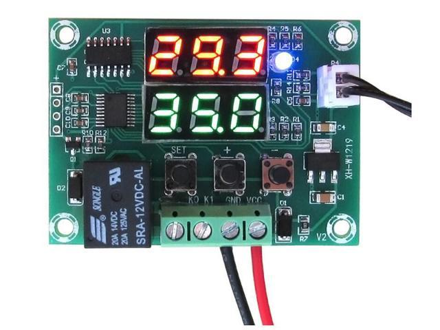 LED Digital Display Temperature Controller Thermostat Sensor Switch Regulator