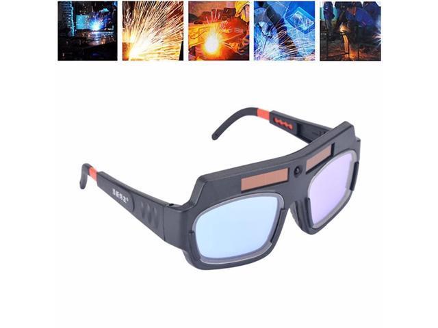 Solar Powered Auto Darkening Welding Mask Helmet Eyes Goggle Welder Glasses USA