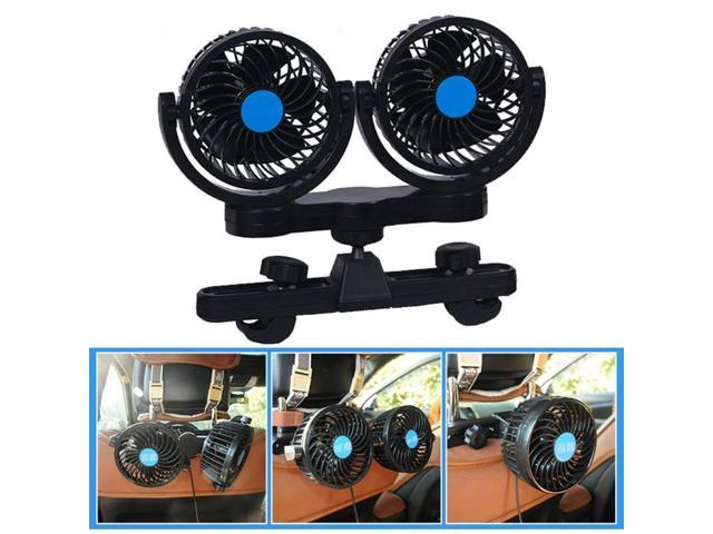 12V Mini Electric 360 Degree Rotating 2 Gears Adjustable Car Fan Low Noise  Car Air Conditioner Summer Cooling Fan Car Air Fan - Newegg com