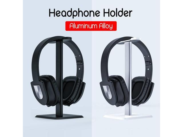 NEW Aluminum Earphone Hanger Headset Holder Headphone Bracket Desk Display Stand