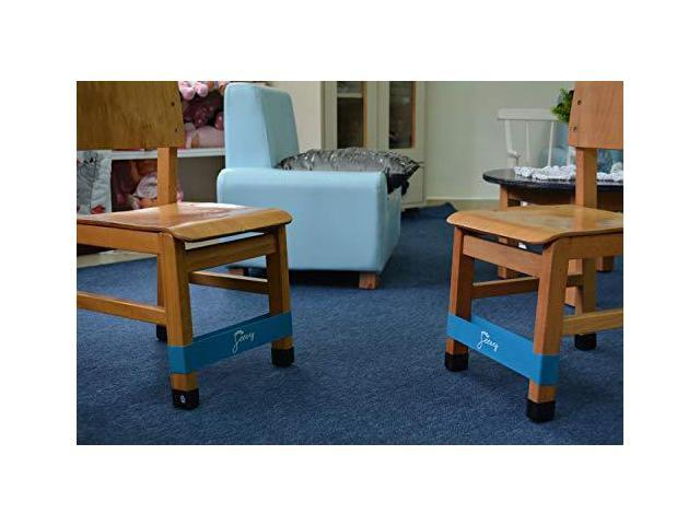 Remarkable Middle 2 Pack Chair Bands For Adhd Kids Bouncy Kick Fidgets Short Links Chair Design For Home Short Linksinfo