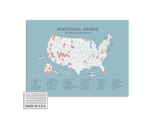 Kindred Sol Collective USA National Park Map 24 x 17 Interactive Educational on naptional parks map, yellowstone on us map, louisiana forests parks map, us national parks tour map, the national map, us deserts map, glacier national park us map, colorado national monument map, parks canada and us map, national park system map, national geographic us map, hawaiian volcanoes national park map, editable us map, south west parks map, national park quarters collection map, arches national park us map, all of north america's national monuments map, kenai fjord national park geology map, nm parks map,