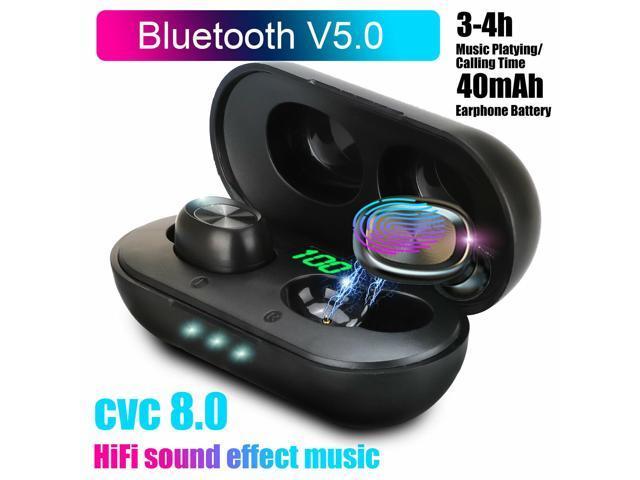 2020 Bluetooth 5 0 Headset Tws Wireless Earphones Mini Earbuds Stereo Headphones Newegg Com