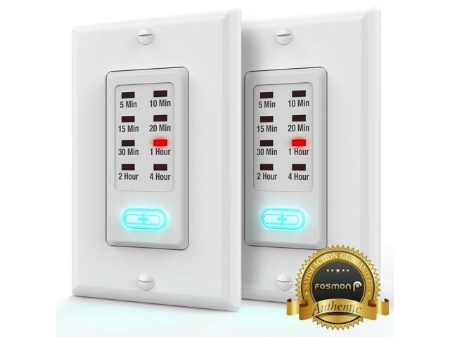 2x Grounded ETL Countdown Wall Programmable Switch Timer ...