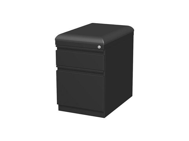 Staples 2 Drawer Vertical File Cabinet Locking Letter Legal Black