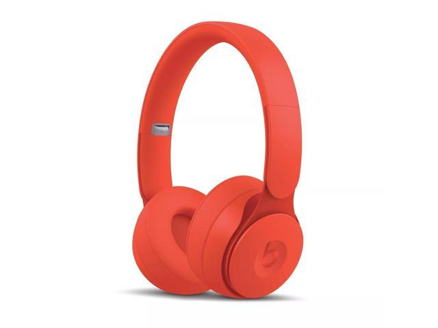 Beats By Dr Dre Solo Pro Wireless Noise Cancelling Headphones More Matte Collection Red Stereo Wireless Bluetooth Over The Head Binaural Circumaural Noise Canceling Red Newegg Com