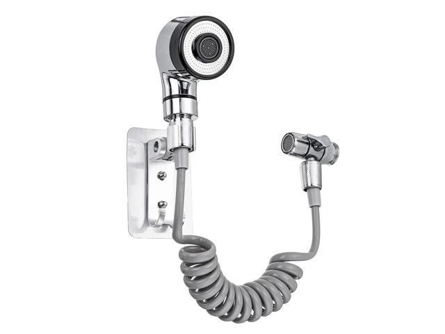 Bathroom Basin Tap External Hand Shower Faucet Nozzle Bathroom Supplies Quick Connect Sink Hose Sprayer Set Newegg Com