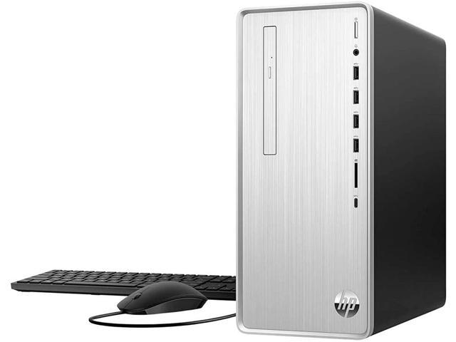 2021 Newest HP Pavilion Desktop, 11th Gen Intel Core i7-11700F 8-Core Processor, AMD Radeon RX 550, 32GB RAM, 512GB SSD + 1TB HDD, DVD, Wi-Fi, HDMI, Bluetooth, Windows 10 Home, Silver