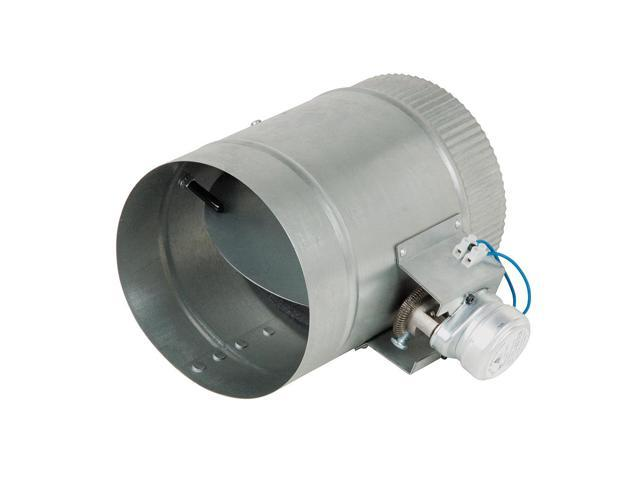 6-Inch Diameter Normally Open Electronic HVAC Air Duct Damper with Power  Supply - Newegg com