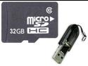 OEM 32GB 32G microSD microSDHC SD SDHC Card Class 10 with R13 Card Reader