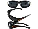 Birdz Oriole Shatterproof Anti-Fog Polycarbonate Motorcycle Glasses with Wind Blocking Foam