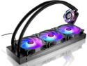 RAIJINTEK EOS 360 RBW AIO Water CPU Cooler, with 12025 Addressable RGB PWM fans, Addressable RGB tank, ARGB 3-in-1 cable, PWM 3-in-1 cable, compatible with INTEL & AMD morden socket CPU.