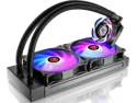 RAIJINTEK EOS 240 RBW AIO Water CPU Cooler, with 12025 Addressable RGB PWM fans, Addressable RGB tank,  ARGB Y-cable, compatible with INTEL & AMD morden socket CPU