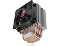 RAIJINTEK AIDOS CPU Cooler, 4pcs 6mm Heat-Pipe, 92mm PWM Fan, Compact Size CPU Cooler, Compatible with All Modern Sockets of Intel & AMD at Market, Easy Installation and User Friendly