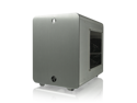RAIJINTEK METIS Aluminum M-ITX Case, USB 3.0* 2, Compatible with Standard ATX Power Supply, 170mm VGA Card Length, 160mm CPU Cooler Height, 120mm Performing Fan Pre-Installed, 7 Colors Option -Silve