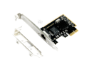 Realtek 8125 3000Mbps 2.5Gbps RJ-45 PCI-E Network Interface Card with Half Size Bracket for Small Form Factor Computers