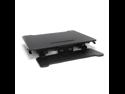 OFM Essentials Collection Adjustable Desktop Riser, Standing Desk Converter, in Black (ESS-5136-BLK)