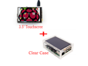 """New Original 3.5"""" LCD TFT Touch Screen Display for Raspberry Pi 3 Model B Board + Acrylic Case + Stylus"""