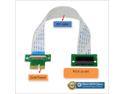 PCI-e Express 1X Riser Extender Card with High Speed Flexible Cable 12 Inches