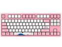 Akko 3087V2 World Tour Tokyo Sakura Pink TKL Gaming Mechanical Keyboard 87 Keys Double Shot Five-Side Dye Sub PBT Keycaps NKRO Detachable USB Type-C - Pink Switch
